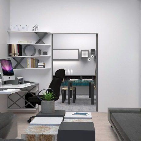 Καθιστικό-Γραφείο
